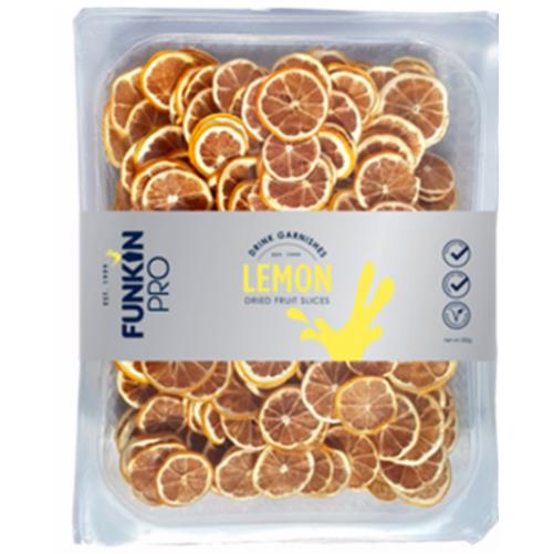 Tranches de citrons déshydratés - plateau de 250 g