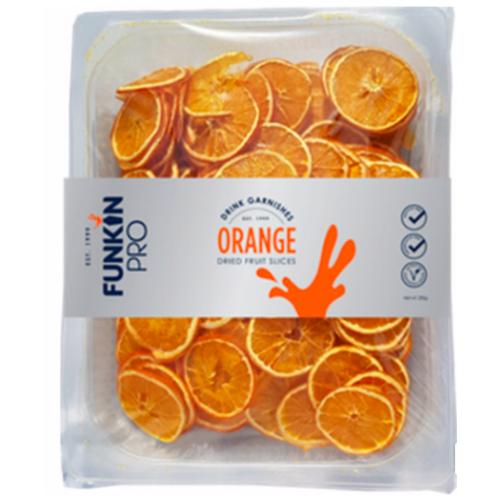 Tranches d'oranges déshydratées - plateau de 300 g