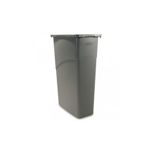 Bac plastique poubelle 87 L - D: 762 x 279 x 508mm