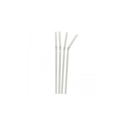 Pailles de bar crystal coudées 60x200mm - B250