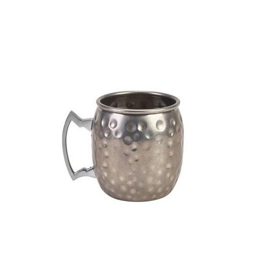 Moscow Mule Mug Ronde Aspect Martelé Ancien - 40cl