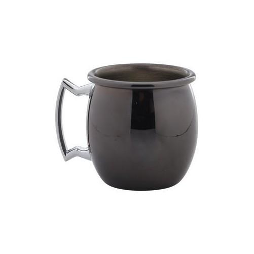 Mini Moscow Mule mug rond noir - 6cl