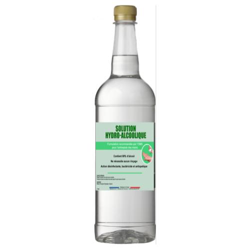 Solution hydro-alcoolique - carton de 6 bouteilles de 1L