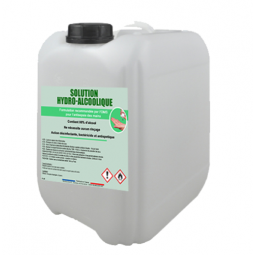 Solution hydro-alcoolique - bidon de 10 L