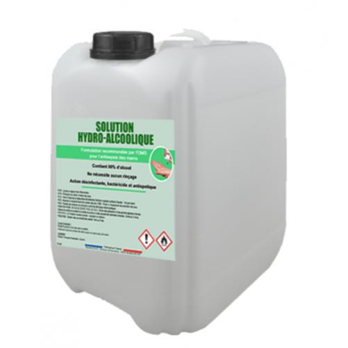Solution hydro-alcoolique - bidon de 10 L