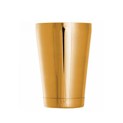 Cocktail shaker doré lesté - 57 cl