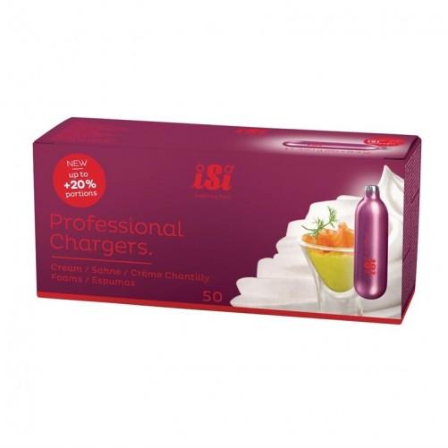 Boîte de 50 cartouches de N2O pour siphon ISI