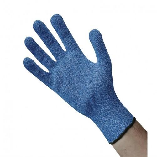 Paire de gants anti-coupures bleu