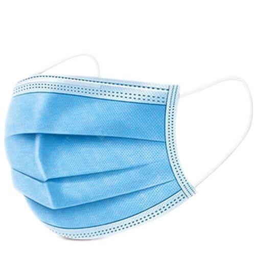 Masque non chirurgical jetable - 3 plis - Boîte de 50