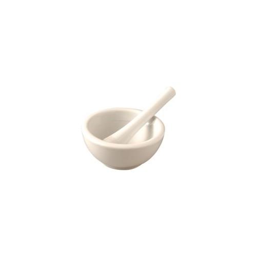 Mortier en porcelaine blanche Ø15cm