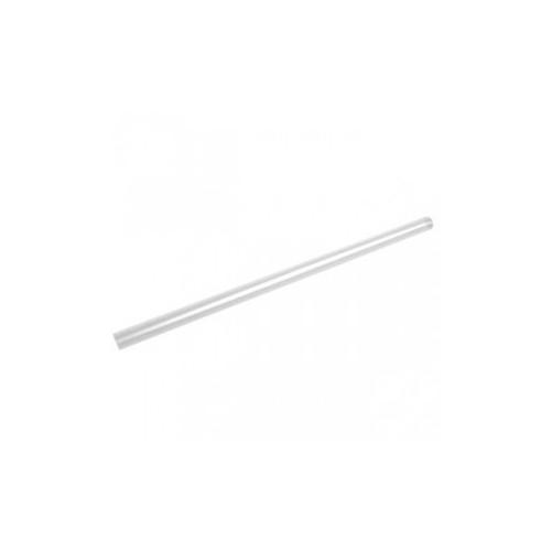 Pailles de bar crystal droite 6x200mm - B500