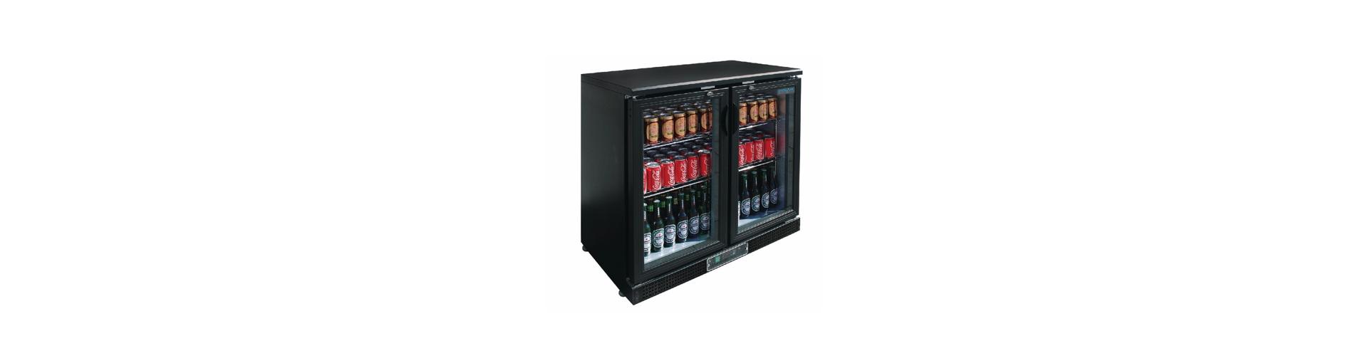 Back bar & refrigerated display case
